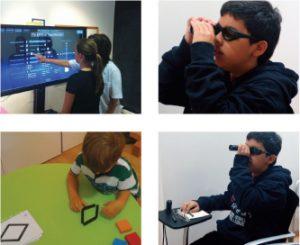 ejercicios visión infantil
