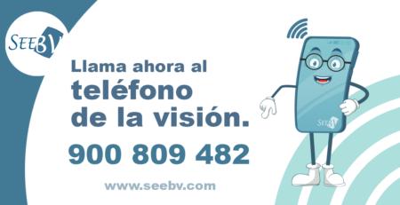 teléfono de la visión